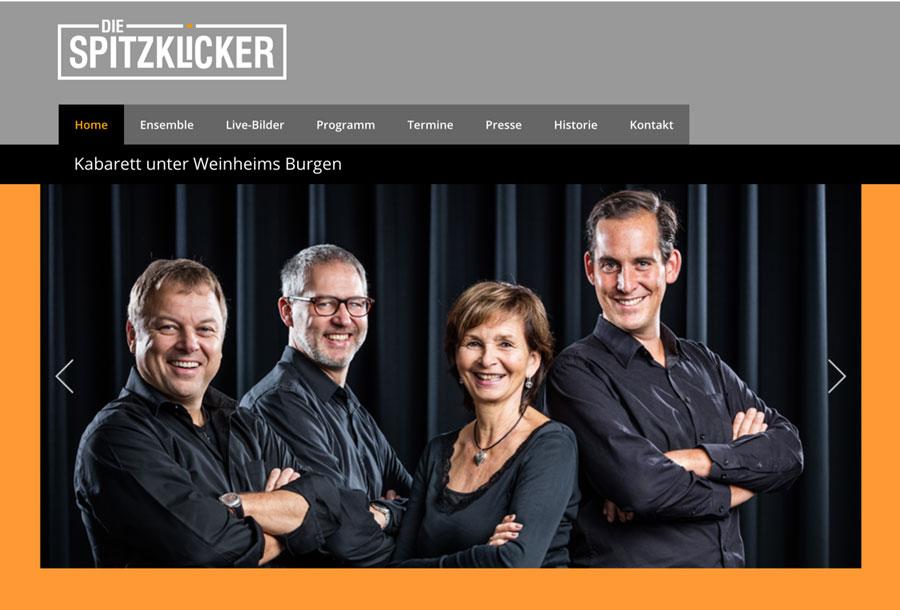 Franz Kain Im Ensemble - Die Spitzklicker